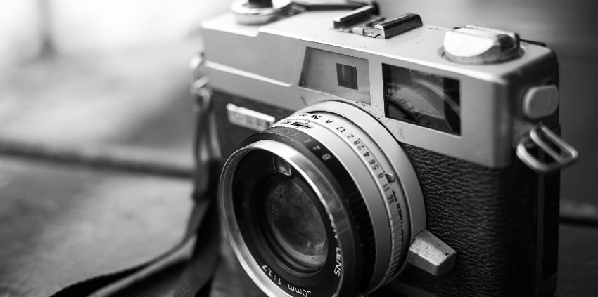 Foto einer Kamera