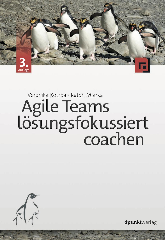 Cover Agile Teams lösungsfokussiert coachen 3. Auflage