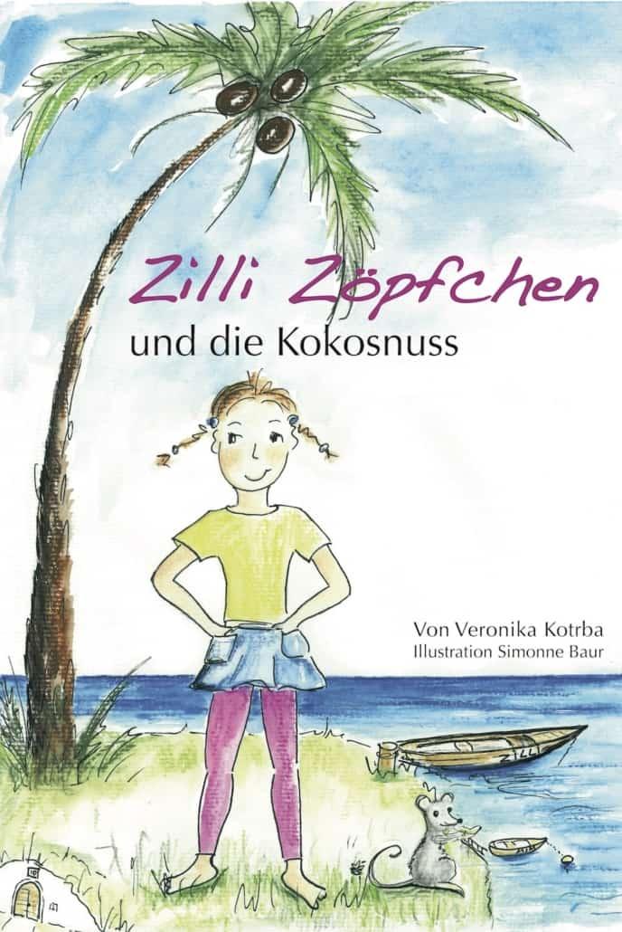 Cover Zilli Zöpfchen und die Kokosnuss
