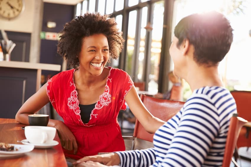 Einzelcoaching - zwei Menschen im Gespräch
