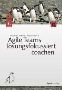 Buch cover: Agile Teams lösungsfokussiert coachen