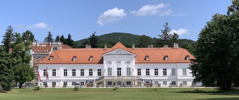 Foto vom Schloss Miller Aichholz