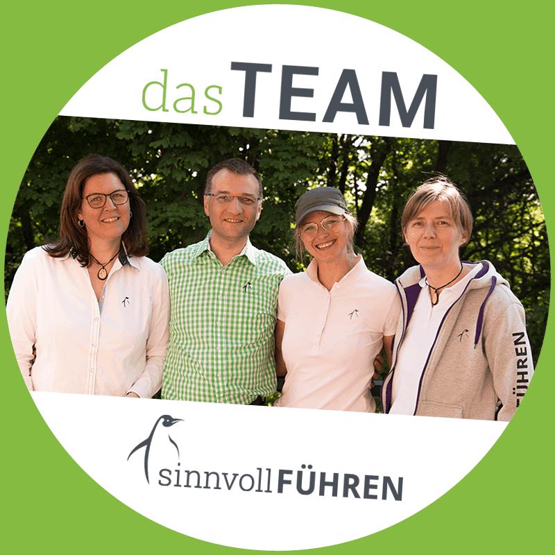 Foto vom sinnvollFÜHREN-Team
