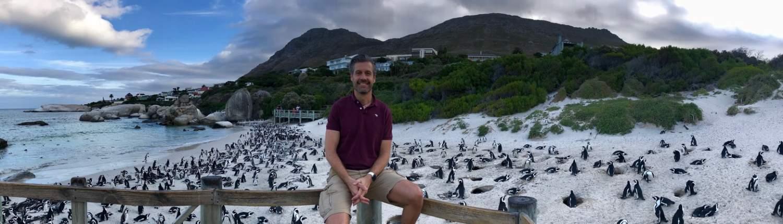 Marc und Pinguine