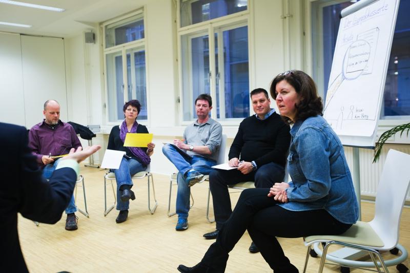 Gruppenbild: Lösungsfokussierte Teamentwicklung